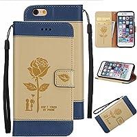 Cozy Hut iPhone 6 Plus Hülle,iPhone 6S Plus Schutzhülle, Rose Lover Design Premium PU Leder Flip Case Handyhülle... preisvergleich bei billige-tabletten.eu
