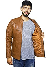 3b05fb721 Leather Men's Jackets: Buy Leather Men's Jackets online at best ...