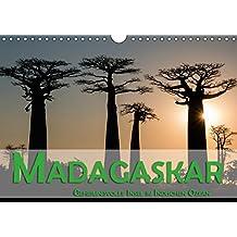 Madagaskar - Geheimnisvolle Insel im Indischen Ozean (Wandkalender 2018 DIN A4 quer): Die Insel Madagaskar im Indischen Ozean verspricht dem Besucher ... Orte) [Kalender] [Apr 15, 2017] Pohl, Gerald