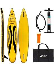 EXPLORER SUP THUNDER 380 x 71 x 15 cm Inflatable Isup aufblasbar Stand Up Paddle Board Pumpe Surfboard Aqua