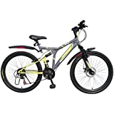 Kross K 40 21Speed Disc 26 Grey&Green 402232 Mountain Cycle(Grey)