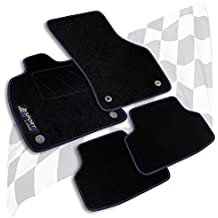 2006-2013 Anthrazit Fußmatten Autoteppiche Citroen C4 Picasso Bj