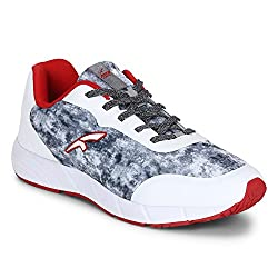 FURO by Red Chief White/Red Mens Walking Sport Shoes (W3005 779) Size UK 8