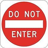 No entrada Estados Unidos carreteras sólo reglamentos hospitalidad hoteles moteles decoración del hogar signo cartel de metal para exterior Patio señal de seguridad