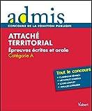 Image de Attaché territorial : Epreuves écrites et orales Catégorie A