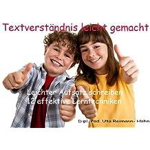 Textverständnis leicht gemacht - Lernmethoden Aufsatz schreiben