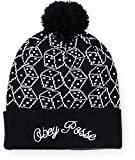 Obey Dice Pom Beanie Black UNICA