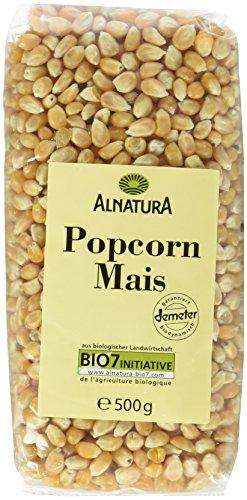 Alnatura Bio Popcornmais, 500 g - Beschichtete Popcorn