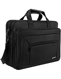 Kopack Laptop Briefcase Large Capacity 15.6 Inch Laptop Bag Water Resistant Scratch-Resistant Nylon Multi-Functional...
