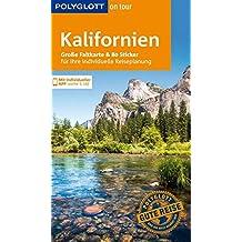 POLYGLOTT on tour Reiseführer Kalifornien: Mit großer Faltkarte, 80 Stickern und individueller App