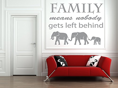 Family-means-nobody-gets-left-behind-Quote-Ohana-Vinyl-Wall-Art-Sticker-Mural-Decal-Home-Wall-Decor-Living-Room-Bedroom-Elephants
