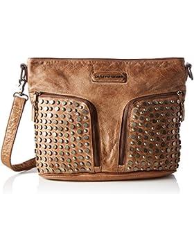 Taschendieb Damen Td0111ol Umhängetasche, Braun, 15 x 28 x 39 cm