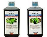 Easy Life Sparpack AlgExit 1000 ml BlueExit 1000 ml Power gegen Algen im Aquarium