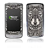 LG GD900 Crystal Autocollant Protection Film Design Sticker Skin Mandala Loup Chien
