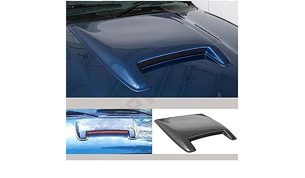 Nova for Dodge Ram Mustang Camaro Challenger Charger Universal Paintable ABS Hood Scoop
