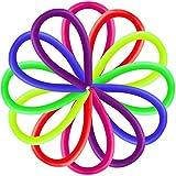 Contever Elastico String Giocattoli Costruire Spremere Pull rafforza le armi   Sensoriale Giocattoli Autismo Stress Ansia Rilascio di sollievo per i bambini con ADD, ADHD e Adulti(12 pezzi / 6 colori)