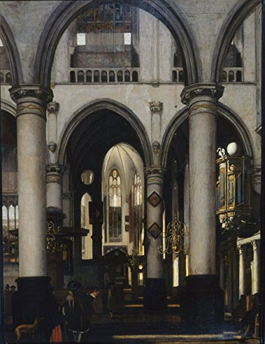 emanuel-de-witte-view-of-a-church-interior-extra-large-semi-gloss-print