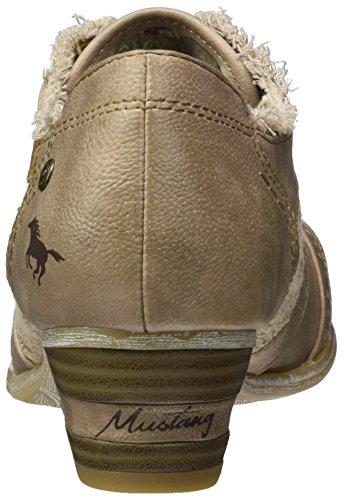 Mustang 1187-204-318, Scarpe con Tacco Donna Marrone (318 Taupe)