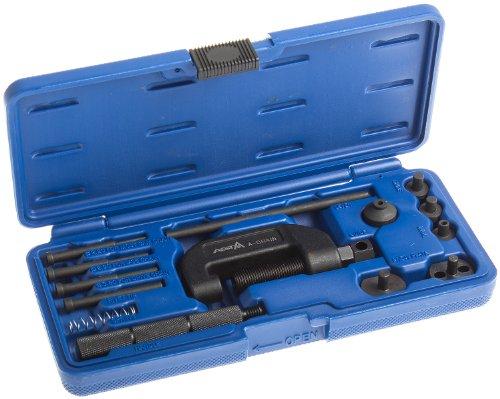 Preisvergleich Produktbild Satz A-Chain Kettentrenner und Nietwerkzeug für Motorradketten - Werkzeug zum Trennen und Vernieten von Ketten der Teilung 35 bis 630