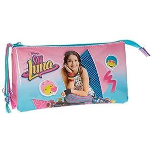 Disney Soy Luna Neceser de Viaje, 22 cm, 1.32 litros, Multicolor