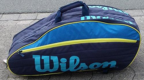 Wilson Tour IV 12 Pack Blue/Yellow Tennistasche
