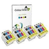 Colour Direct 16 Kompatibel Druckerpatronen Ersatz für Epson Stylus S20, SX100, SX105, SX110, SX115, SX200, SX205, SX210, SX215, SX218, SX400, SX405, SX410, SX415, SX515W, SX600FW, SX610FW, BX300F, S21, SX110, SX115, SX215, SX410, SX415, (Schwarz, Cyan, Magenta, Gelb)