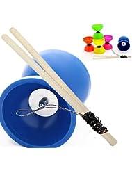 'PLAY MALABARES' ASTRA kit PassePasse diábolo azul DIÁBOLO con la playa para niños arbolado palo y Slide Cadena