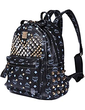 Keshi Neu Faschion Rucksäcke Damen Mädchen Schüler Lässige Canvas Rucksack Vintage Backpack Daypack Schulranzen...
