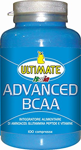 Ultimate Italia Advanced BCAA Aminoacidi Ramificati - 100 Caplets
