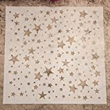 Gemini _ Mall® Fashion Malvorlage Schablone Scrapbooking Album Kuchen Kaffee DIY Art Decor Sterne