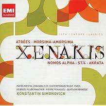 Xenakis: Atr??es / Morsima-Amorsima / Nomos Alpha / ST-4 / Akrata (2010-02-23)