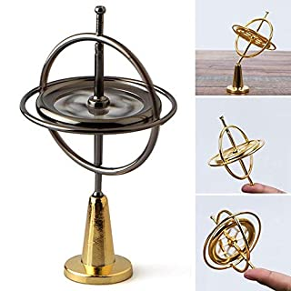 AUOKER Spinner Balance Toys, Cool Fidget Spinner, Gyroscope Relieve Stress Toys Spinning Top Magic Finger Toy, Spin Lasting Multiple Ways of Playing, Physics Training Gyro for Kids