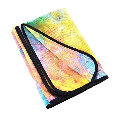 Yoga Yoga Anti-Rutsch-Handtuch Yoga-Matte Sporthandtuch Falten Yoga-Handtuch Mikrofaser Ring