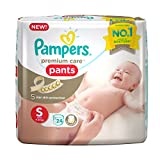 #9: Pampers Premium Care Small Size Diaper Pants (24 Count)