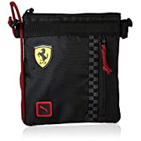 Puma Men's Ferrari Fanwear Portable Small Items Bag, Black