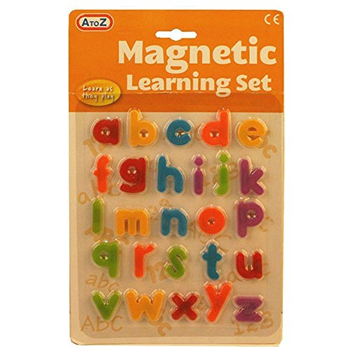 A-to-Z-Magnetic-Letters-ChildToddler-Educational-Alphabet-Fridge-Magnets-Set