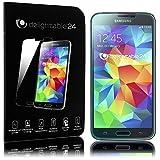 NALIA Schutzglas für Samsung Galaxy S5 Mini, 2.5D Full-Cover Displayschutz Handy-Folie, 9H gehärtete Glas-Schutzfolie Bildschirm-Abdeckung, Schutz-Film Phone HD Screen Protector Glass - Transparent