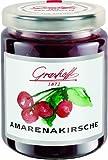 Grashoff Amarenakirschkonfitüre Extra, 250 g, 3er Pack (3 x 250 g)