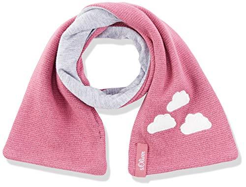 s.Oliver Baby-Mädchen Schal 59.808.91.3774, (Dark Pink 4363), One Size (Herstellergröße: 1)