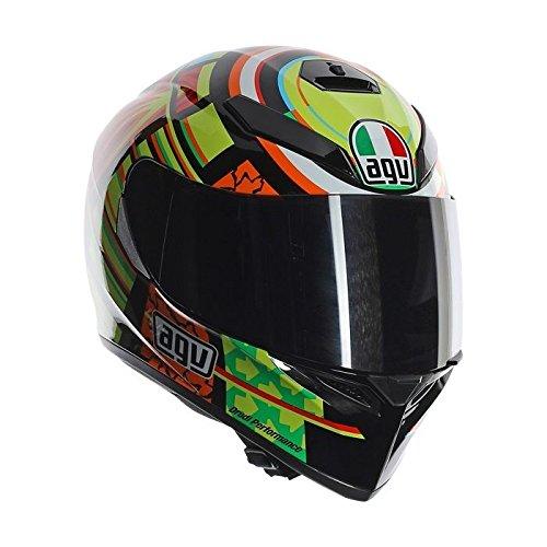 Agv, casco per moto K3SV, replica Rossi Elements