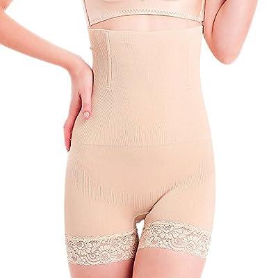 SURE YOU LIKE Damen Figurenformend Miederpants Miederhose Shapewear Bauch-Weg-Effekt Formt Sofort Body Shaper