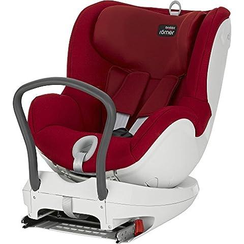 Romer Dual Fix - Silla de coche, grupa 0+/1 (nacimiento - 15 kg), color rojo (flame rot)