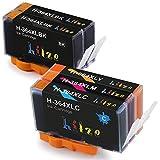 Hitze Cartucce 364 XL compatibili per HP OfficeJet 4620 4622 Photosmart 5520 5524 6520 5510 7520 6510 5515 B8550 C5380 C6380 C5380 C5390 Deskjet 3070A 3520 (2 Nero, 1 Ciano, 1 Magenta, 1 Giallo)