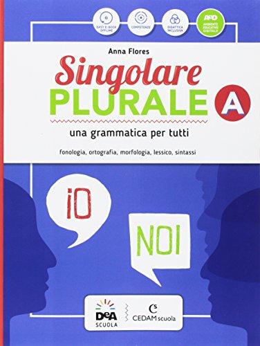 Singolare plurale. Per la Scuola media. Con e-book. Con espansione online. Con DVD-ROM. Con Libro: Grammatica facile