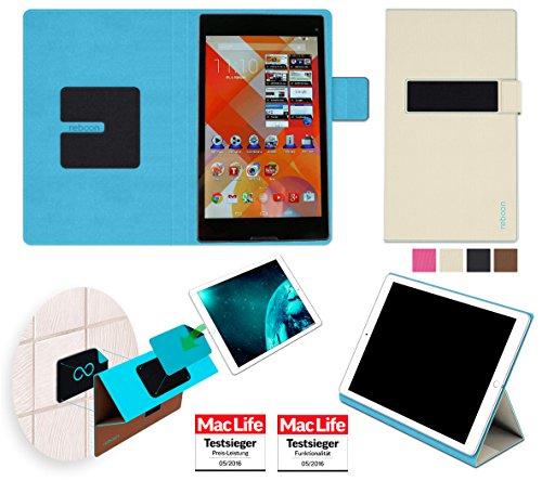 Hülle für Medion Lifetab S8311 Tasche Cover Case Bumper | in Beige | Testsieger