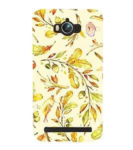 YuBingo Asus Zenfone Max ZC550KL :: Asus Zenfone Max ZC550KL 2016 :: Asus Zenfone Max ZC550KL 6A076IN Designer Phone Back Case Cover ( Leafy Pattern )