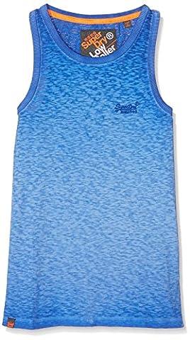 Superdry Jungen O L Low Roller Top, Blau (Keys Cobalt), XX-Large (Herstellergröße: 2XL)