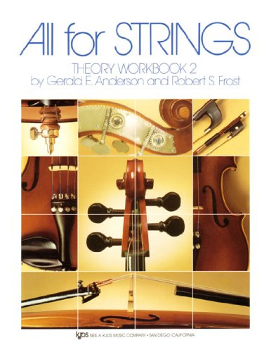 All For Strings Theory Book 2: Violin por Robert Frost