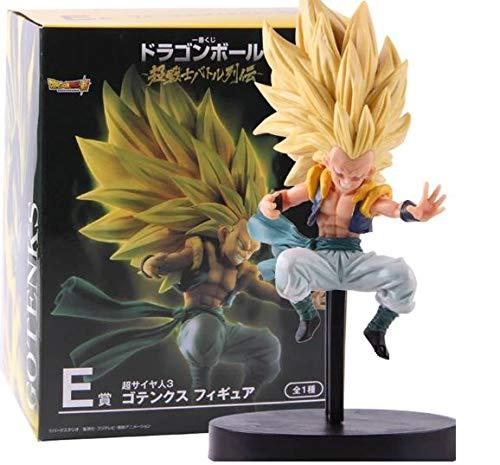 Flevans Figura Super Saiyan Gotenks Dragon Ball Z DBZ Figure tamaño 17 cm DB DBZ Super colección muñeco