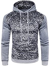 Hommes Hippie Streetwear Swag Sweatshirt Automne Hiver Basique Casual  Tailles Confortables Hooded Sports Hoodie Manches Longues 2999c5aa562f